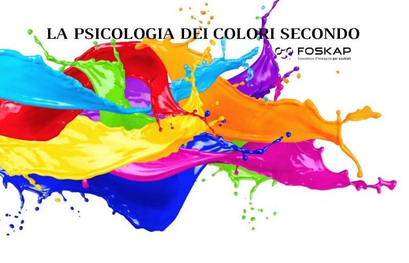 Scopri chi sei attraverso la psicologia del tuo colore secondo Foskap